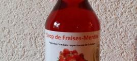 Sirop de fraises / menthe 3,5dl