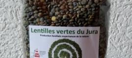 Lentilles vertes du Jura 400g
